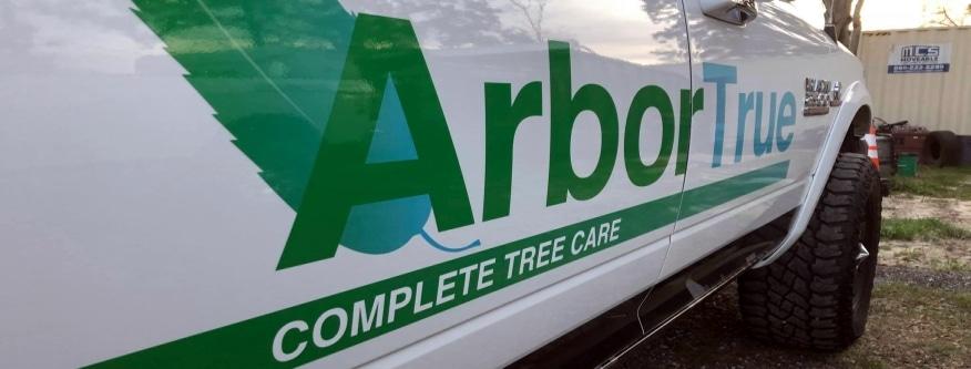 tree service company truck